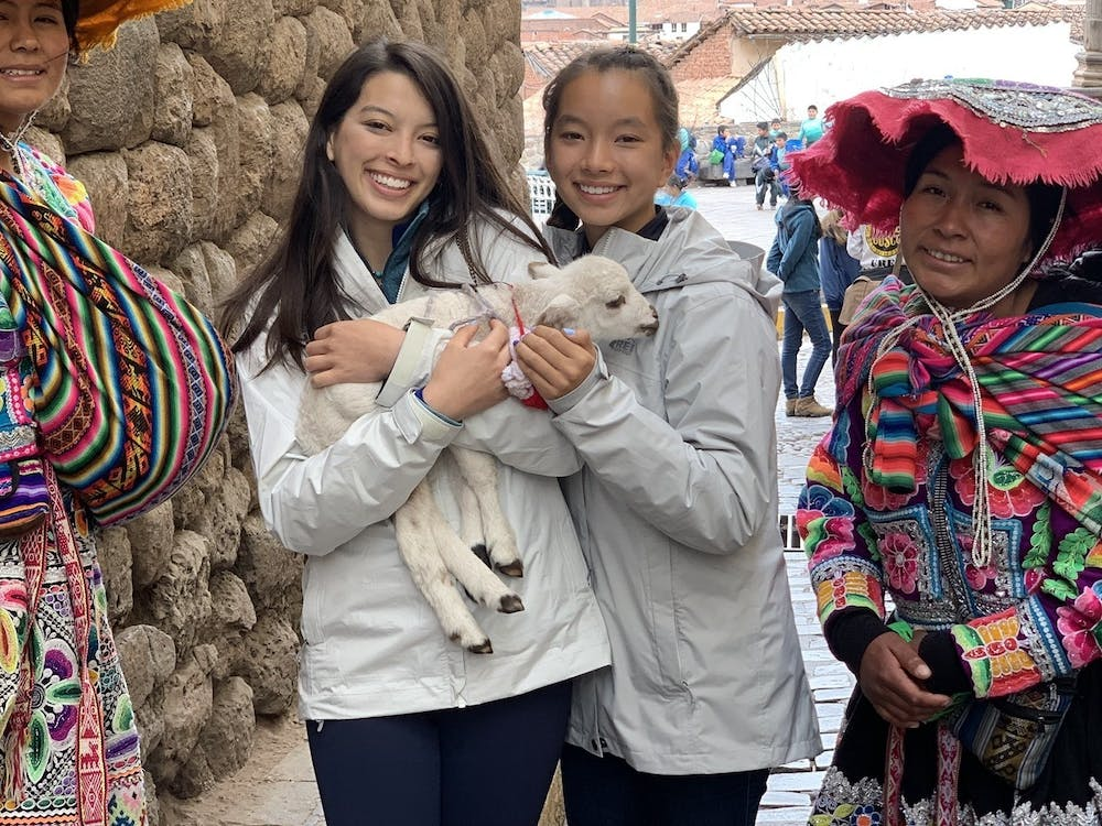 Natalie and Maya became inspired to start the project after their first visit to Huacahuasi two years ago.