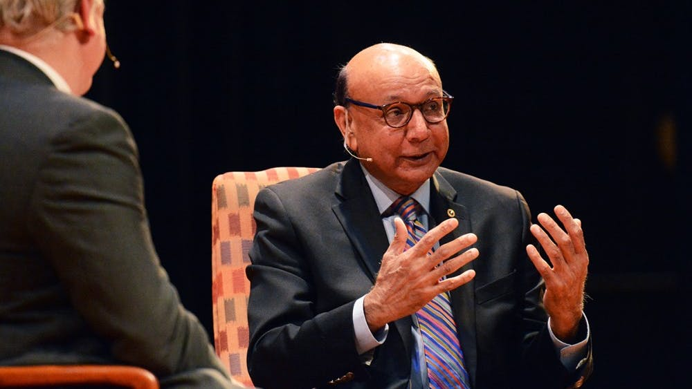 """Khizr Khan's event """"Hope and Sacrifice"""" was a headlining feature of the 2018 Festival of the Book."""