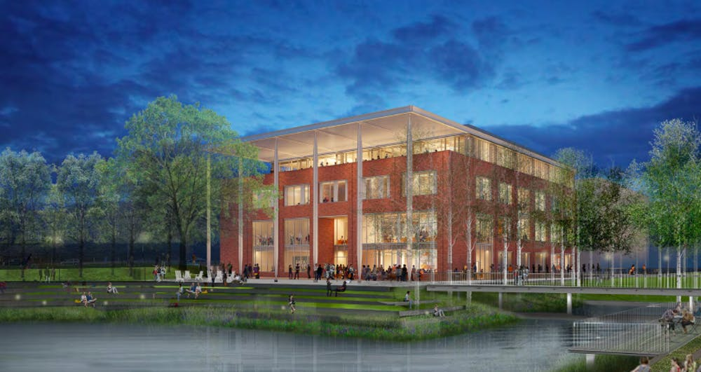 <p>The Board of Visitors plans to vote on schematic designs for both the construction of a School of Data Science at the Ivy Corridor as well as a renovation to Smith Hall at the Darden School of Business.</p>