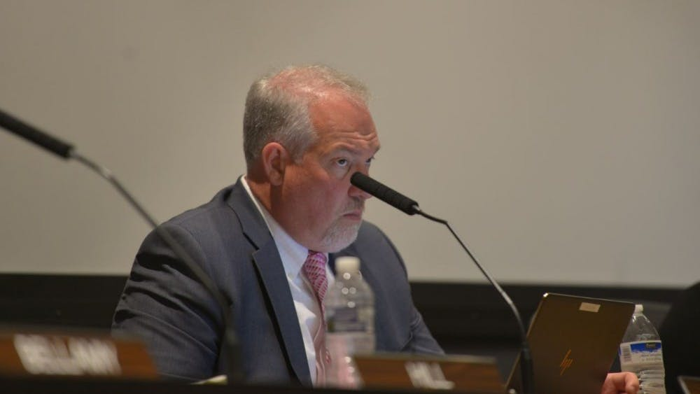 Interim City Manager Mike Murphy was appointed earlier this year after previously serving as an assistant City Manager for the City of Charlottesville.