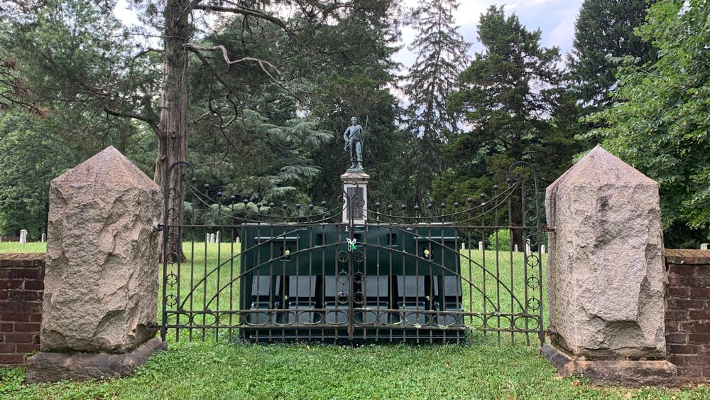 The move to restrict access to the University's Confederate Cemetery comes amidst weeks of nationwide protests prompting the removal — sometimes by force — of numerous Confederate statues and other monuments deemed to be racist across the country.