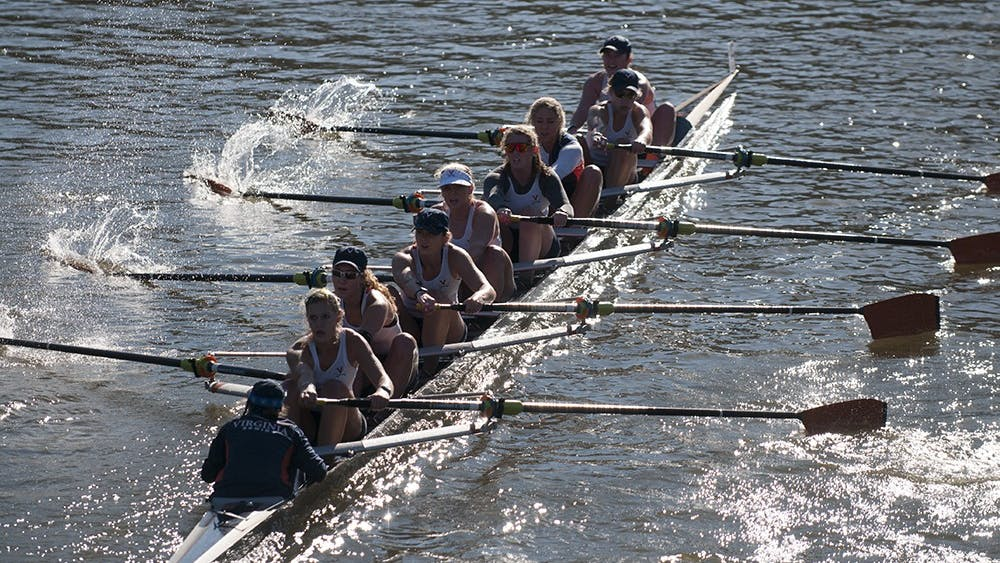 At Lake Carnegie over the weekend, Virginia finished second overall in the Varsity Eight race. Brown bested the Cavaliers by a little under seven seconds.
