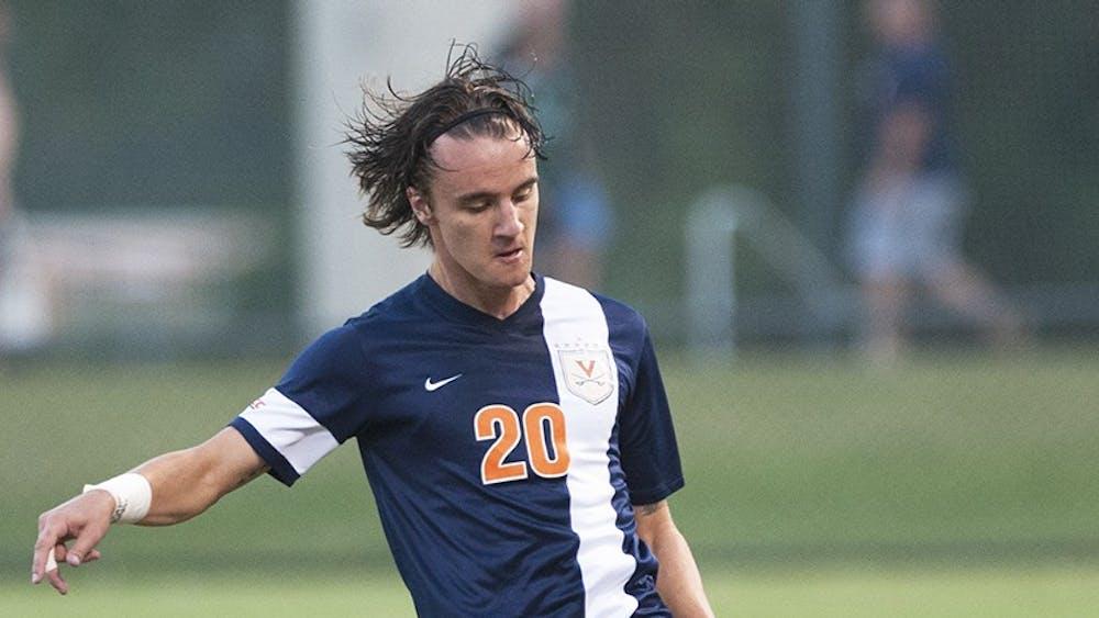 Senior midfielder Paddy Foss and the Virginia men's soccer team open their season Friday night.
