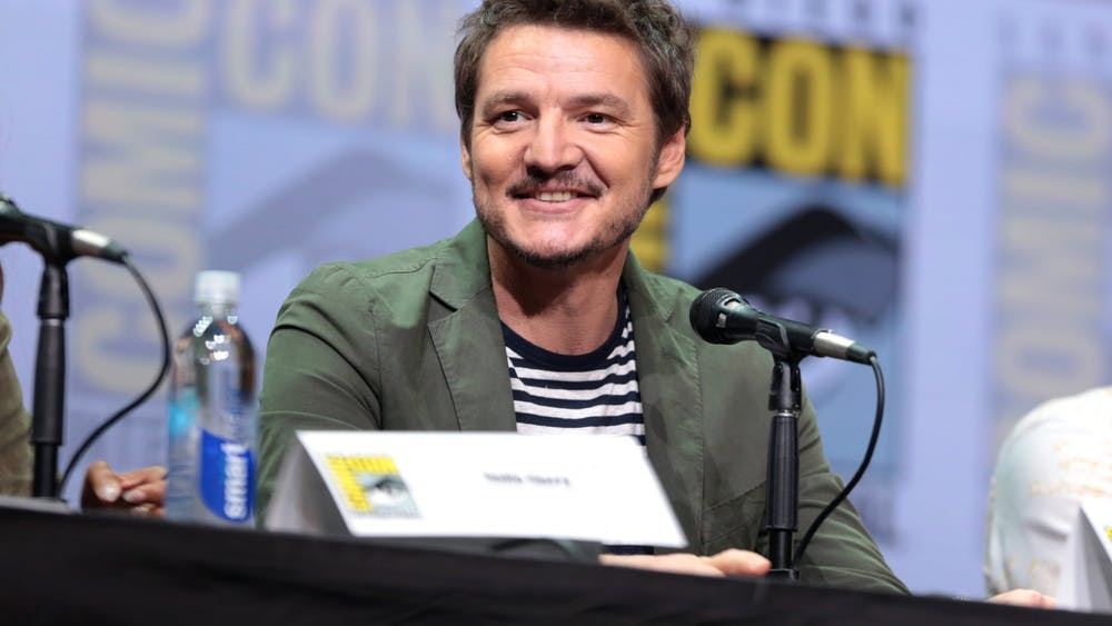 "Actor Pedro Pascal returns to ""The Mandalorian"" as the voice and occasional face of the titular hero."