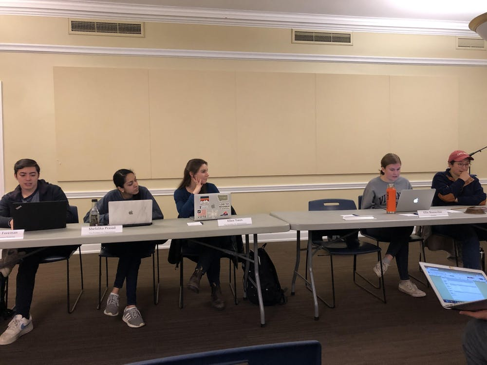 <p>The three new student organizations British student association, HoosTalking and TAMID were approved for CIO-status.&nbsp;</p>