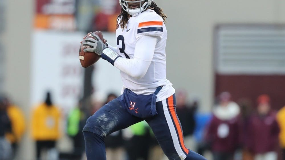 Senior quarterback Bryce Perkins will lead Virginia in its pursuit of a division title.