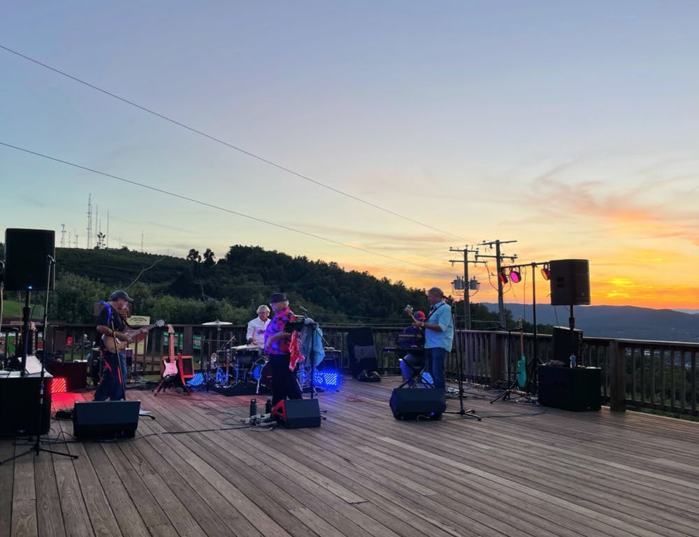 """<p>The band kicked off the evening with crowd pleasers, like Smash Mouth's """"I'm a Believer,"""" before transitioning to a range of more traditional classic rock songs, and ending the night with a funk-focus on New Orleans.&nbsp;</p>"""