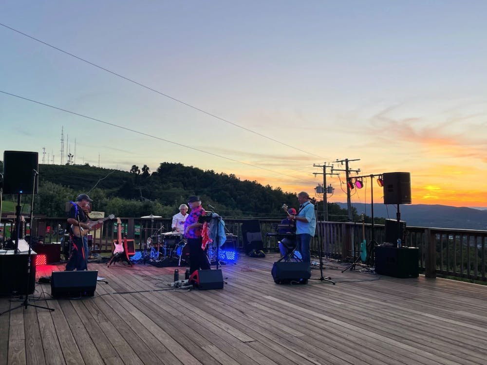 """The band kicked off the evening with crowd pleasers, like Smash Mouth's """"I'm a Believer,"""" before transitioning to a range of more traditional classic rock songs, and ending the night with a funk-focus on New Orleans."""