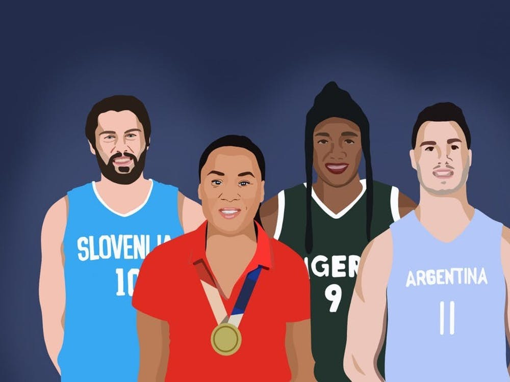 尽管弗大的篮球实力已在美国闻名遐迩,但四名弗大球员将学校的统治地位扩展到了全球舞台。