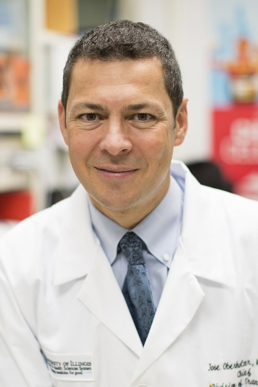 <p>Dr. Oberholzer said he hopes to increase access to transplants while decreasing surgical risks.</p>