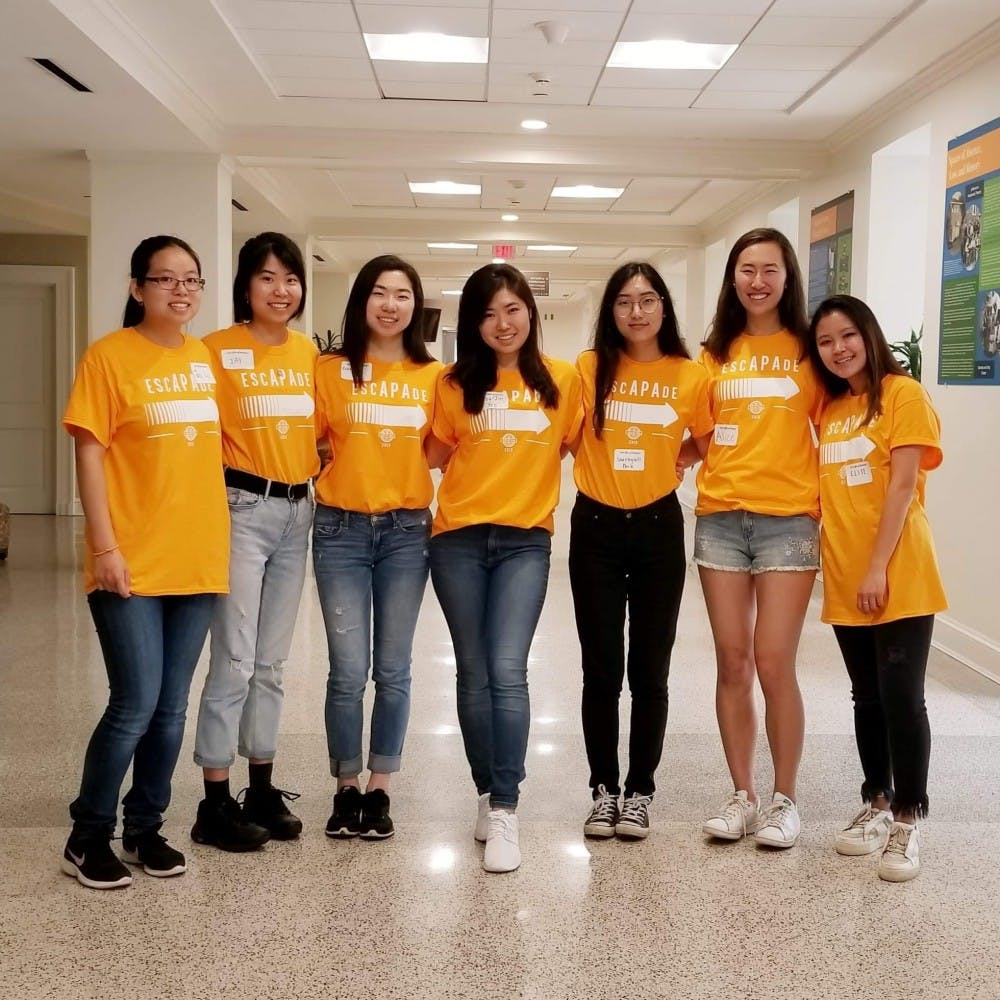 <p>Members of ASU's Prospective &amp; Alumni Relations Committee were in charge of planning and executing Escapade.&nbsp;</p>