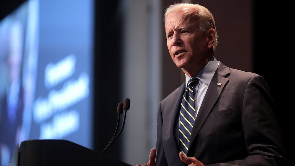 Of the five leading candidates still in the race, only Biden has experience on the international stage.