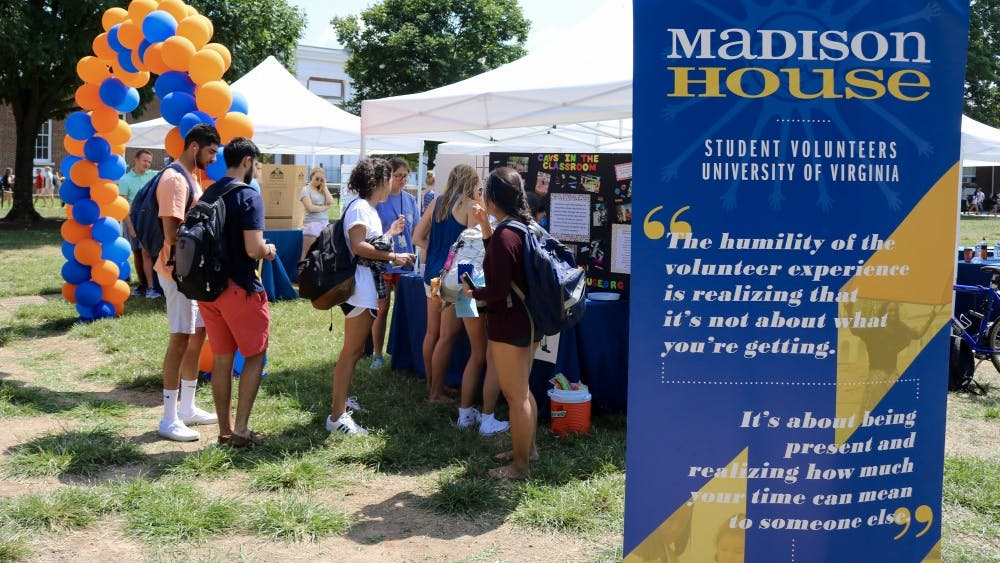 Madison House held their Volunteer Programs Fair on the South Lawn.