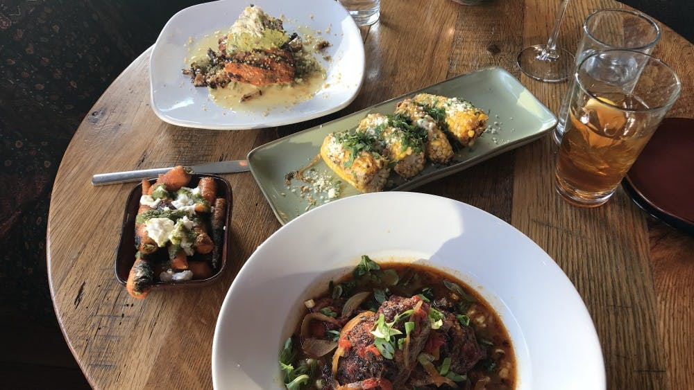 Junction offers a variety of Southwestern inspired dishes.