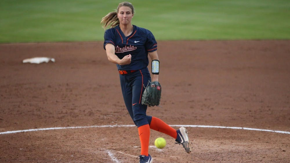 <p>Senior pitcher Allyson Frei threw a no-hitter in her last game ever pitching in The Park.</p>