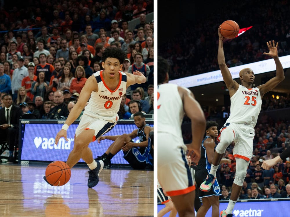Kihei Clark and Mamadi Diakite are leading Virginia in assists and points, respectively,