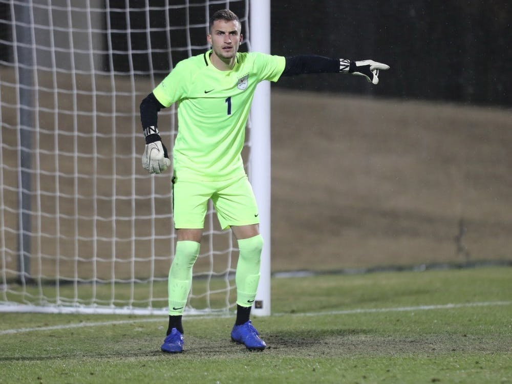 Junior goalkeeper Colin Shutler will have to bring his A-game in order to shut down Southern Methodist's electric offense.
