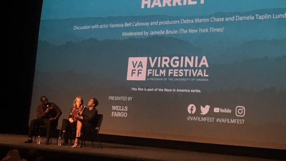 "The screening of ""Harriet"" at the Virginia Film Festival was followed by a discussion moderated by The New York Times writer Jamelle Bouie."