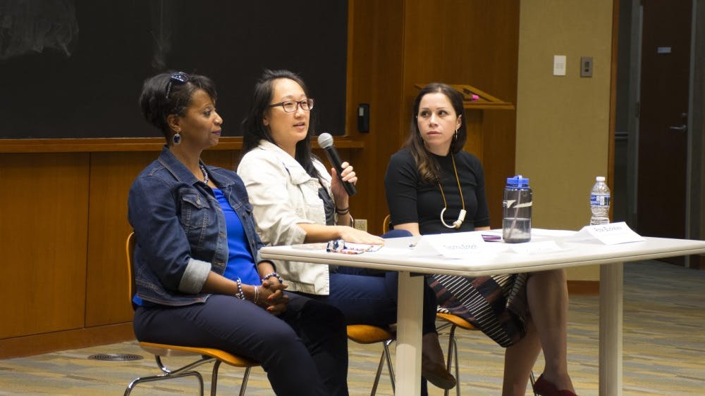 The panelists discussed the significance of activism to students of color at the University.
