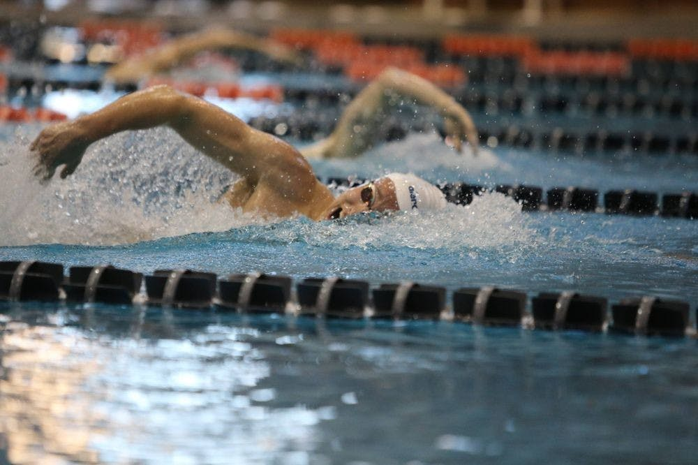 <p>Both the men's and women's swimming teams are nationally ranked, with members of both squads beating personal and conference records left and right.</p>