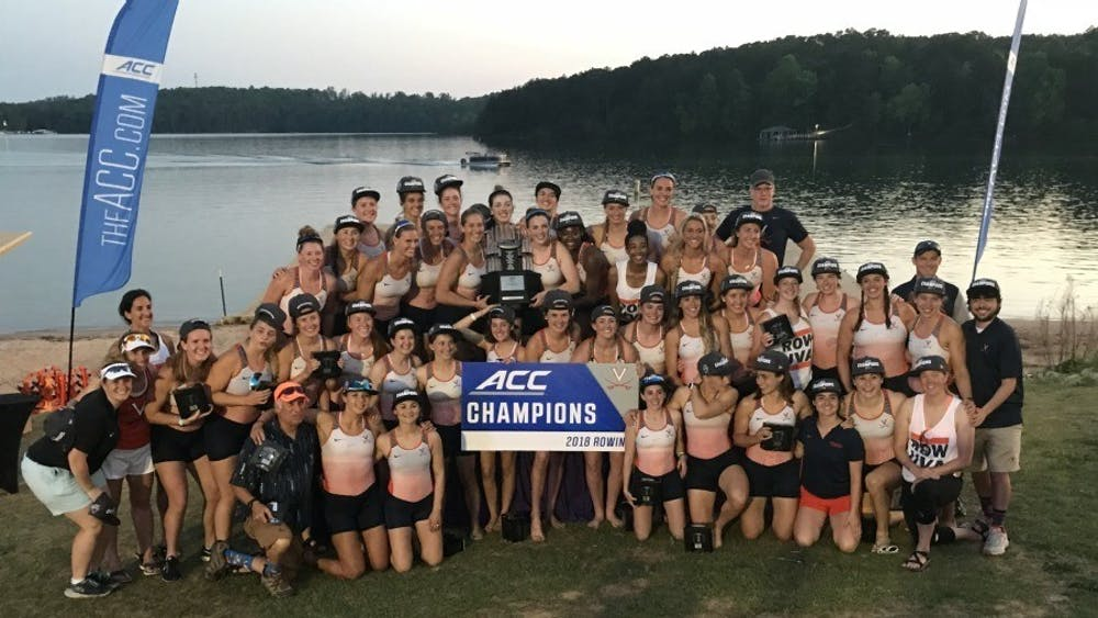 The Virginia Rowing team won the ACC Championship this weekend in Clemson, S.C.