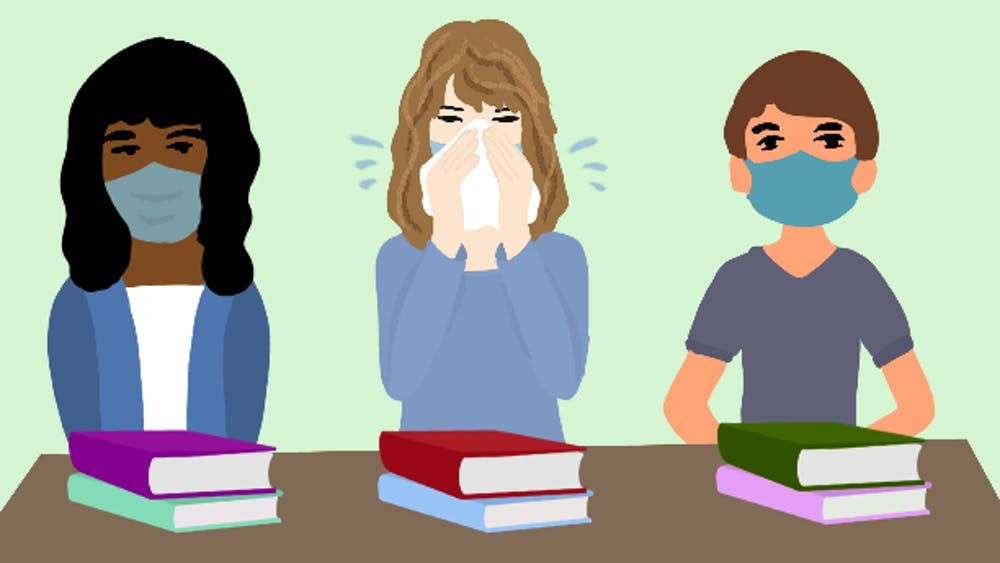 Professor expresses worry over symptomatic students