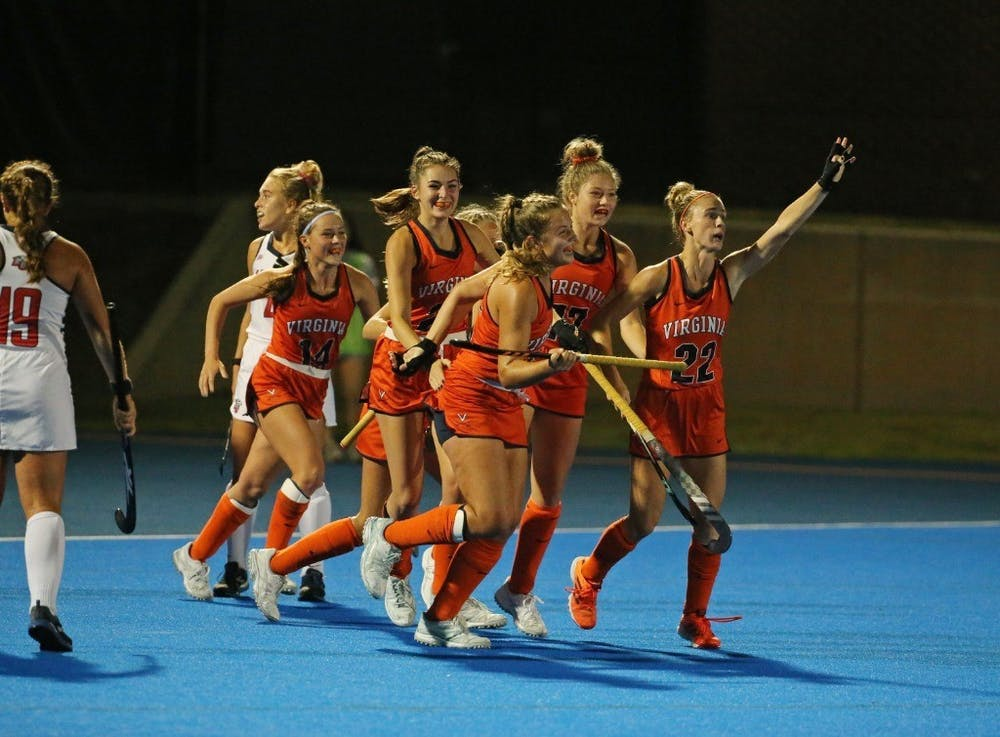 <p>The No. 6 Cavaliers celebrated Senior Night at Turf Field with a shutout win over the No. 17 Flames. &nbsp;</p>