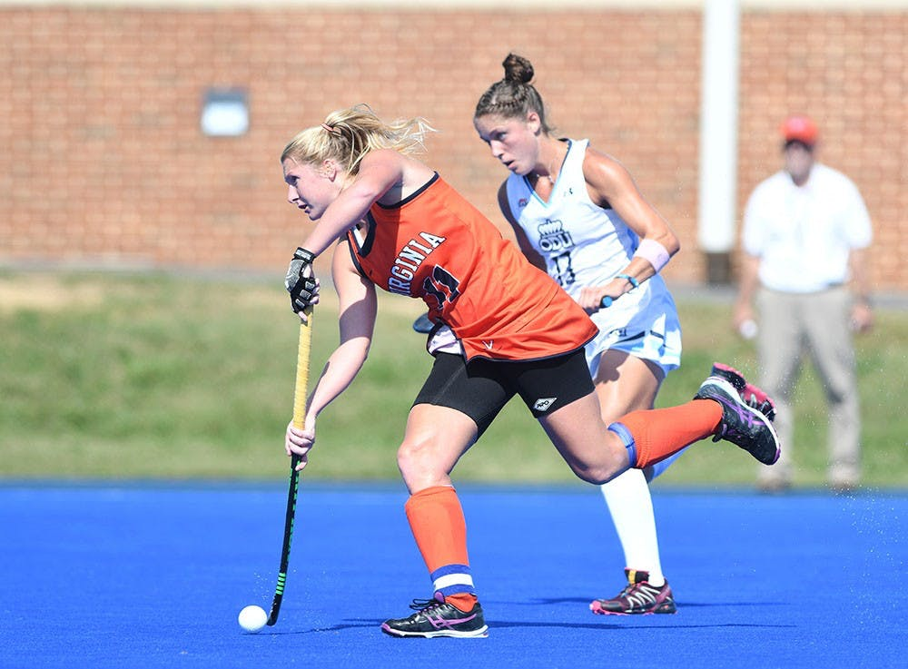 <p>Senior midfielder Lucy Hyams broke the deadlock 4:30 into overtime to secure a 1-0 win over No. 2 Syracuse.&nbsp;</p>