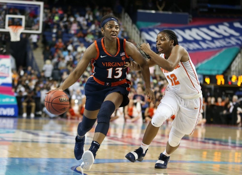 <p>Senior guard Jocelyn Willoughby will be Virginia's undisputed leader this season.</p>