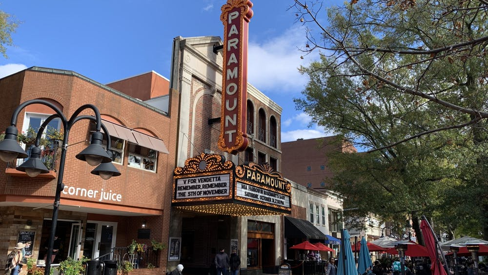 "On Halloween afternoon, The Paramount screened the horror classic ""Rosemary's Baby"" to a modest audience."