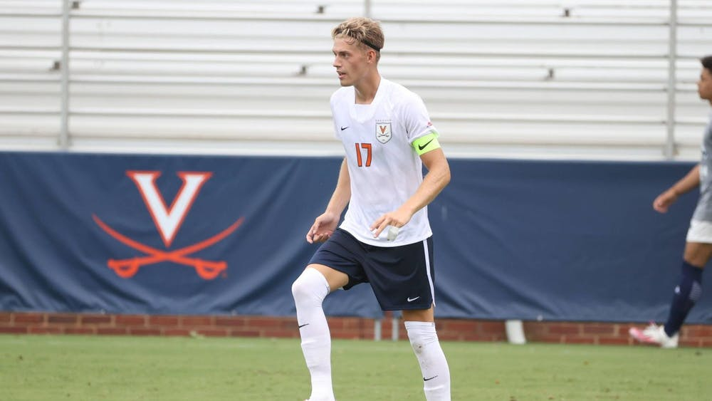 Junior defender Andreas Ueland delivered on two penalty attempts for Virginia to lead the Cavaliers to victory against High Point.