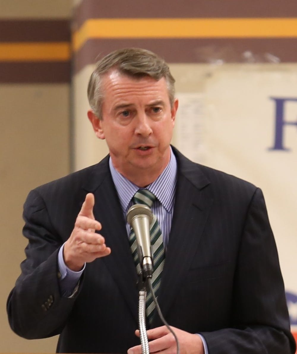 <p>Gubernatorial candidate Ed Gillespie participated in a Q&A-style meeting with the College Republicans.</p>
