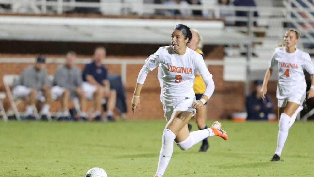 The Cavaliers faced difficulty against the talented Tar Heels in the first half, but tied things up in the second half with a goal by freshman midfielder Diana Ordonez.