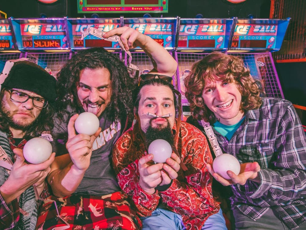 Funk-jam band Pigeons Playing Ping Pong brought their musical wizardry to The Jefferson Theater Jan. 30.