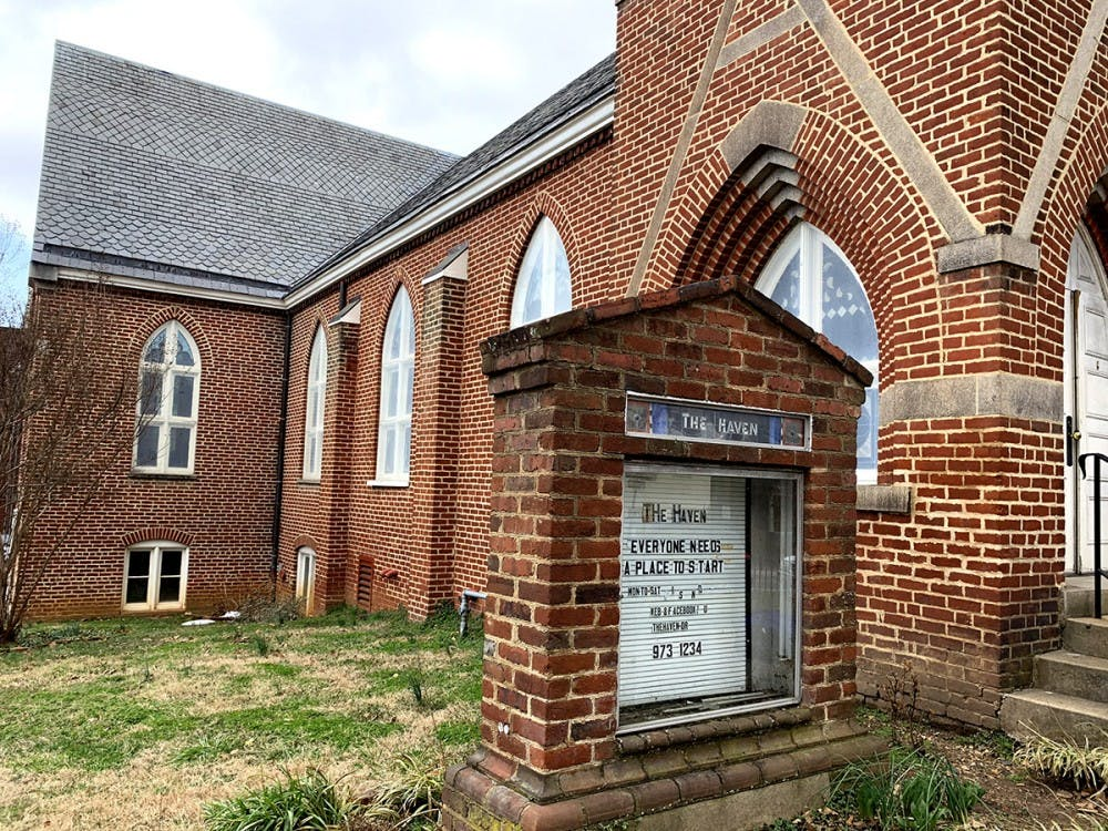 """<p>In downtown Charlottesville, The Haven stands tall as an inviting sanctuary to all those who come across it. Outside the church building converted to a homeless shelter, a sign reads, """"Everyone needs a place to start.""""</p>"""