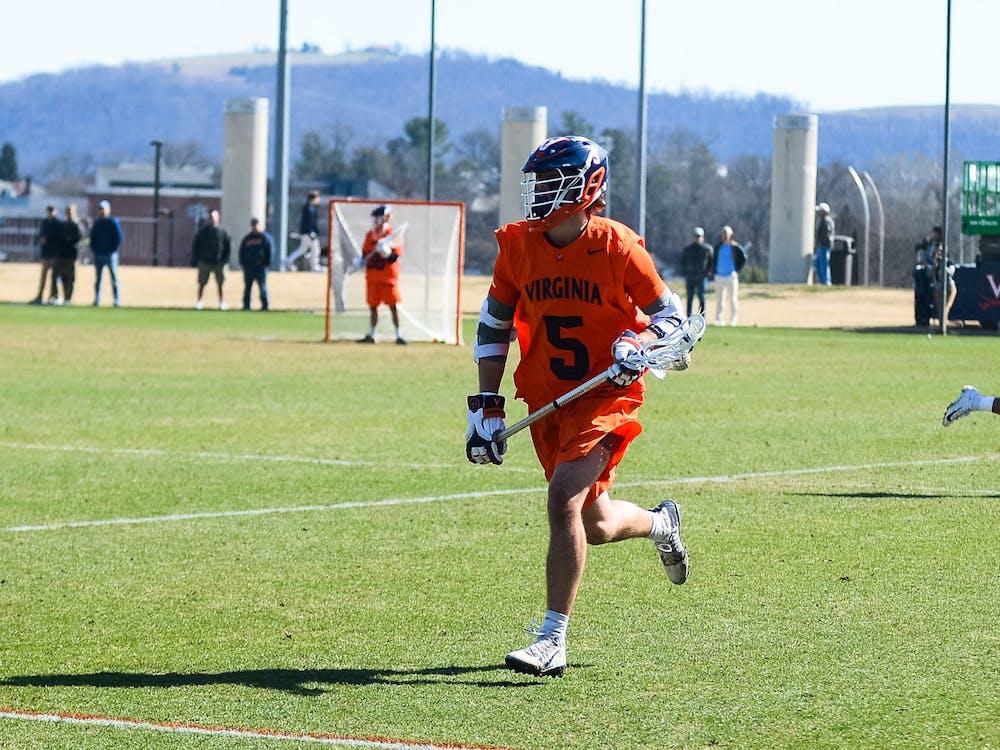 Junior attacker Matt Moore tallied three points in Virginia's dominant win over Air Force.