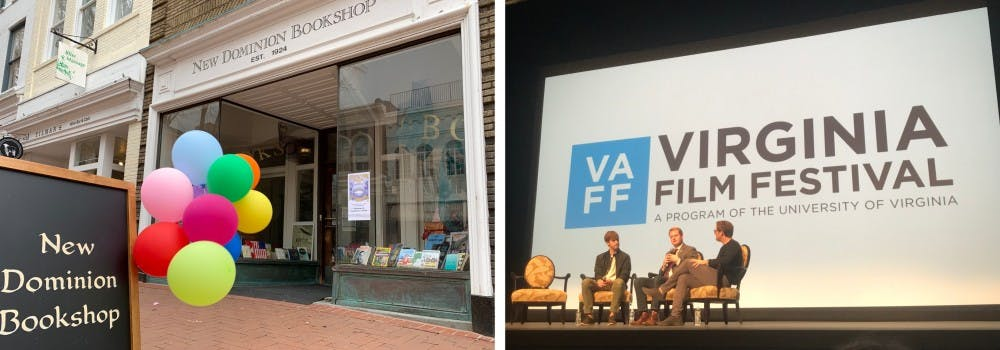 <p>The Reading Series at New Dominion Bookshop and the annual Virginia Film Festival are two events students should check out this fall.</p>