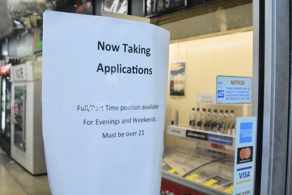 <p>Many restaurants and stores on the Corner are facing a shortage of employees, which has resulted in current employees working long hours.&nbsp;</p>