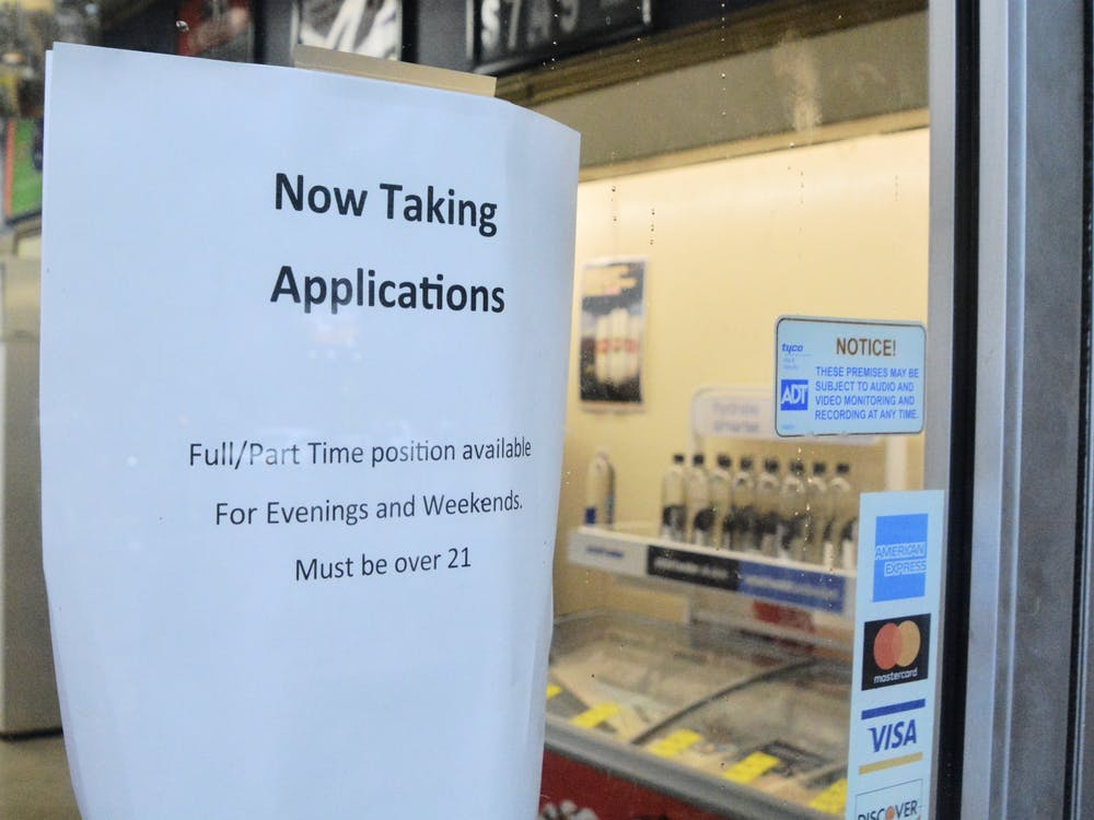 Many restaurants and stores on the Corner are facing a shortage of employees, which has resulted in current employees working long hours.