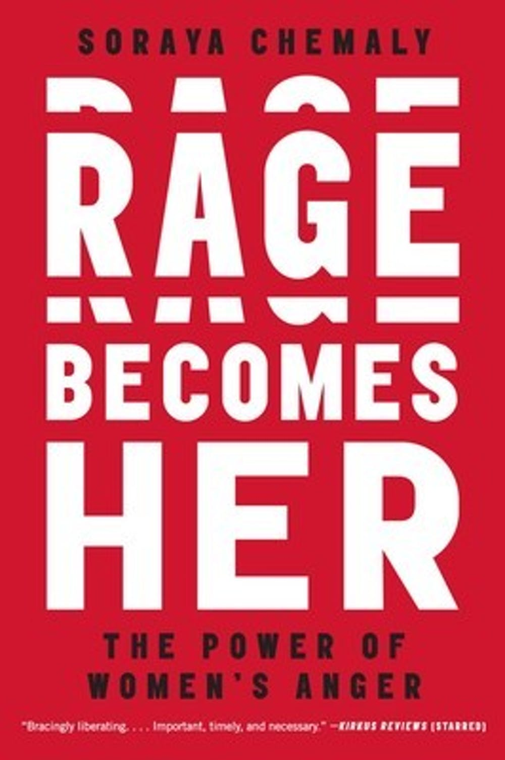 """<p>Soraya Chemaly's Dec. 5 appearance at New Dominion Bookshop focused on her nonfiction work """"Rage Becomes Her: The Power of Women's Anger,"""" and all of the problems that can arise from females repressing or denying the legitimacy of their own emotions.</p>"""