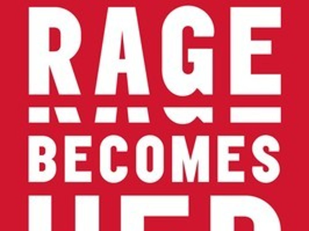 """Soraya Chemaly's Dec. 5 appearance at New Dominion Bookshop focused on her nonfiction work """"Rage Becomes Her: The Power of Women's Anger,"""" and all of the problems that can arise from females repressing or denying the legitimacy of their own emotions."""