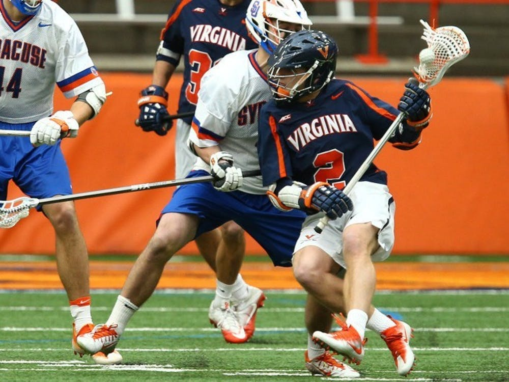 Sophomore attackman Michael Kraus will look to lead the Cavaliers over Princeton Saturday.