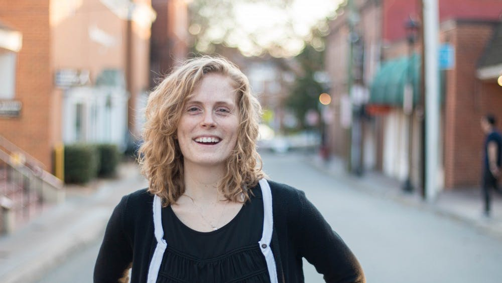 Third-year Commerce student Kate McGinn is a Resident Advisor and the programs director of HackCville, a student entrepreneurship center.