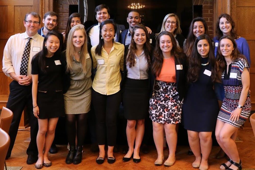 <p>The philanthropy class awarded&nbsp;$37,500 to four non-profit organizations.</p>