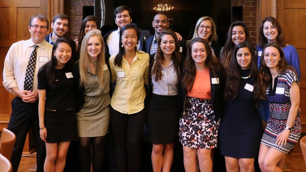 The philanthropy class awarded $37,500 to four non-profit organizations.