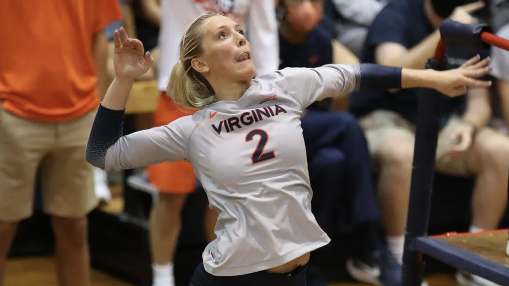 Freshman outside hitter Brooklyn Borum was key in the team's win against Akron, as she recorded some crucial kills.