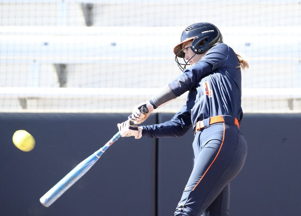 <p>Junior outfielder Tori Gilbert exploded this weekend, scoring two runs, two RBI and a home run across all four games.</p>