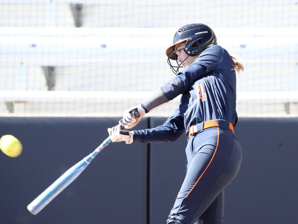 Junior outfielder Tori Gilbert exploded this weekend, scoring two runs, two RBI and a home run across all four games.