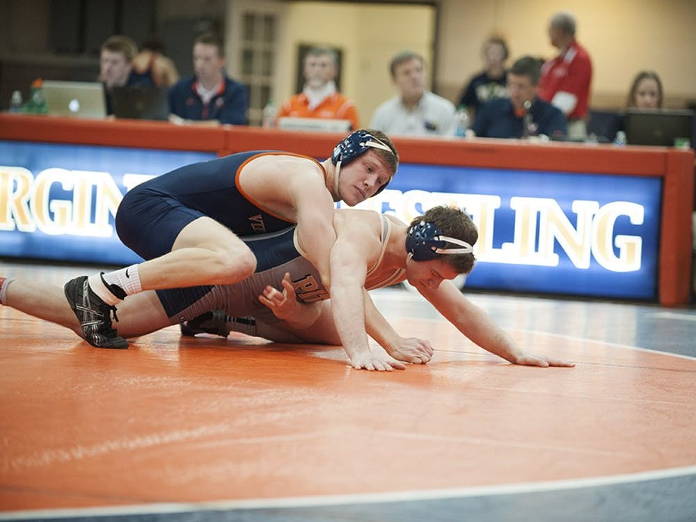 Senior Nick Sulzer and the Virginia wrestling team face a stiff test in top-ranked Iowa. The Cavaliers and Hawkeyes get going at 2 p.m. Sunday.