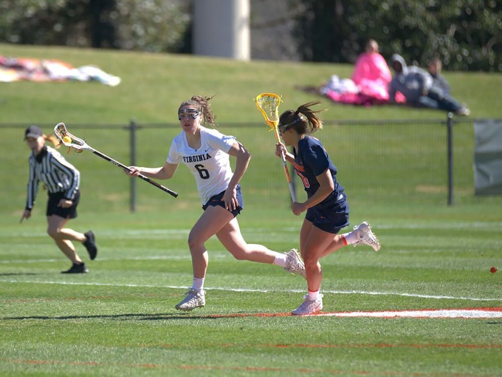 Junior attacker Avery Shoemaker scored a team-high four goals in the contest against Boston College.